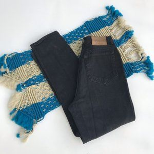 Calvin Klein Black High Rise Skinny Jeans  12